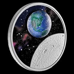 Földanya - az otthonunk 2020 1 uncia kanadai proof ezüst pénzérme boroszilikát üveggel