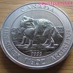 Sarki róka 2014 1,5 uncia ezüst pénzérme