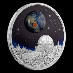 Univerzum 2016 1 uncia kanadai proof ezüst pénzérme boroszilikát üveggel