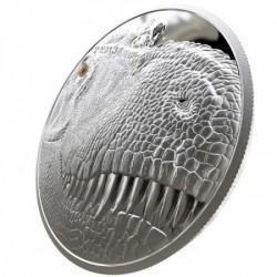 Tyrannosaurus Rex 2018 1 kg proof ezüst pénzérme