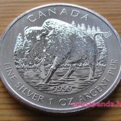 Bölény / Bison 2013 1 uncia ezüst pénzérme