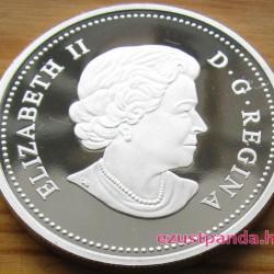 Hód 2013 1 uncia proof ezüst pénzérme