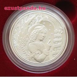 Angyalok - Gábriel arkangyal 10 EUR 2017 proof ezüst pénzérme