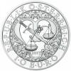Angyalok - Mihály arkangyal 10 EUR 2017 ezüst pénzérme
