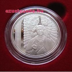 Angyalok - Rafael arkangyal 10 EUR 2018 proof ezüst pénzérme