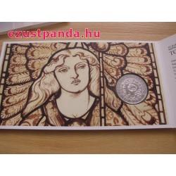 Angyalok - Rafael arkangyal 10 EUR 2018 ezüst pénzérme