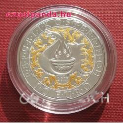 Angyalok - Uriel angyal 10 EUR 2018 proof ezüst pénzérme