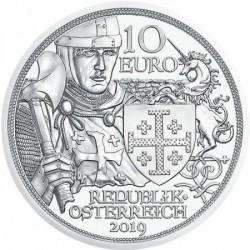 Sodronying és kard - Kalandvágy 10 EUR 2019 ezüst pénzérme