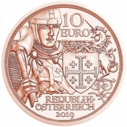 Sodronying és kard - Kalandvágy 10 EUR 2019 réz pénzérme