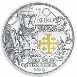Sodronying és kard - Kalandvágy 10 EUR 2019 proof ezüst pénzérme