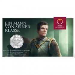Sodronying és kard - Lovagiasság 10 EUR 2019 ezüst pénzérme