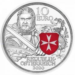 Sodronying és kard - Állhatatosság 10 EUR 2020 proof ezüst pénzérme