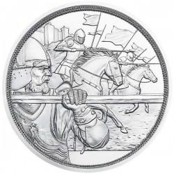 Sodronying és kard - Bátorság 10 EUR 2020 proof ezüst pénzérme