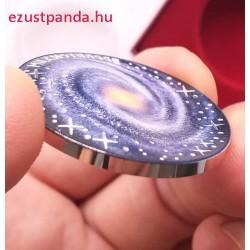 A Tejútrendszer 20 EUR 2021 osztrák proof ezüst pénzérme