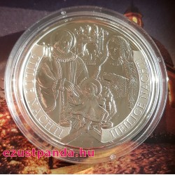 Csendes éj 20 EUR 2018 proof ezüst pénzérme