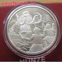 Negyedidőszak - Élet a szárazföldön 20 EUR 2015 proof ezüst pénzérme