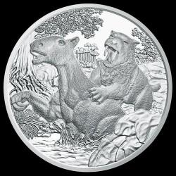 Harmadkor - Élet a szárazföldön 20 EUR 2014 proof ezüst pénzérme