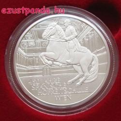 Spanyol lovasiskola 450 éves 20 EUR 2015 proof ezüst pénzérme