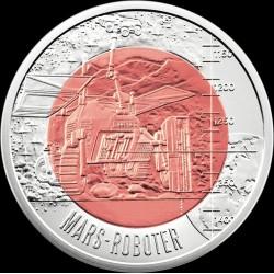 Robotika (Robotik) 25 EUR 2011 ezüst-nióbium pénzérme