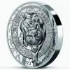 Tigris éve 2022 francia 1 uncia proof high-relief ezüst pénzérme