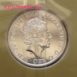 Erzsébet királynő 90. születésnapja 2016 - 20 GBP ezüst pénzérme