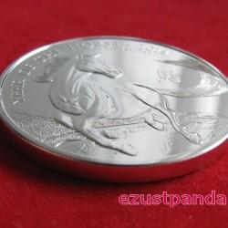 Ló éve 2014 brit 1 uncia ezüst pénzérme