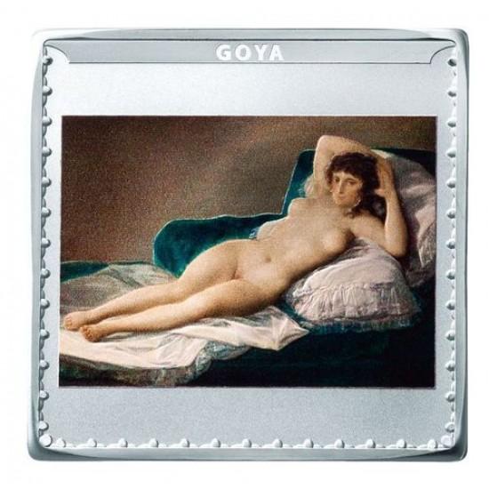A Prado képtár 200. évfordulója spanyol 3x1 uncia proof ezüst pénzérme szett