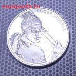 Roger Federer 2020 20 Franc svájci ezüst pénzérme