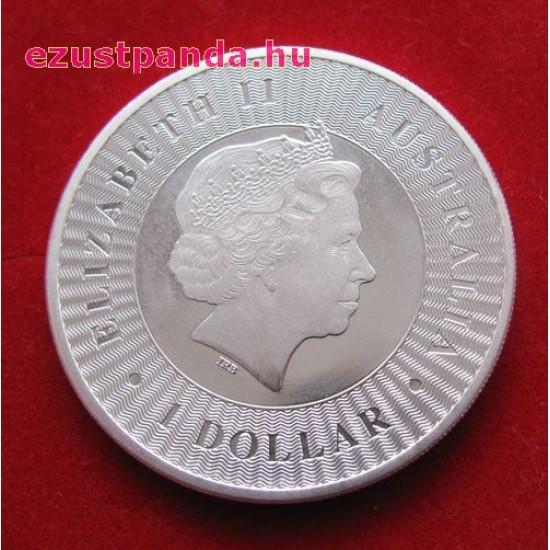 Kenguru 2020 1 uncia ezüst pénzérme 999,9 finomságú - ÚJRA KÉSZLETEN!