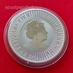 Kenguru 2021 1 uncia ezüst pénzérme 999,9 finomságú