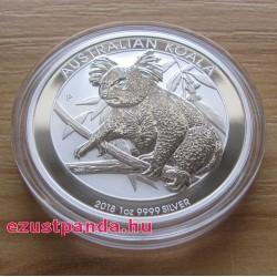 Koala 2018 1 uncia ezüst pénzérme