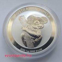 Koala 2020 1 uncia ezüst pénzérme