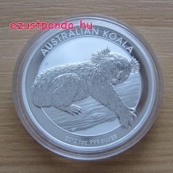 Koala 2012 1 uncia ezüst pénzérme