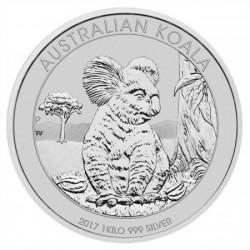 Koala 2017 1 kilogramm ezüst pénzérme