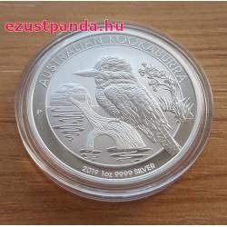 Kookaburra 2019 1 uncia ezüst pénzérme