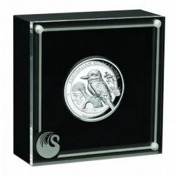 Kookaburra 2019 1 uncia high relief ezüst pénzérme