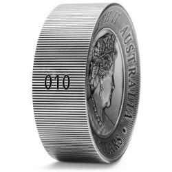 Kookaburra 2020 2 kilogramm antikolt high-relief ezüst pénzérme