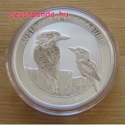 Kookaburra 2017 10 uncia ezüst pénzérme