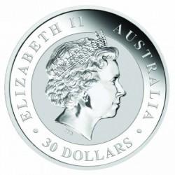 Kookaburra 2018 1 kilogramm ezüst pénzérme