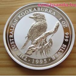 Kookaburra 1995 1 uncia ezüst pénzérme