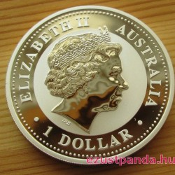 Kookaburra 2007 1 uncia ezüst pénzérme
