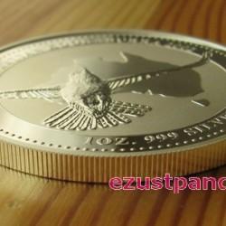 Kookaburra 2002 1 uncia ezüst pénzérme