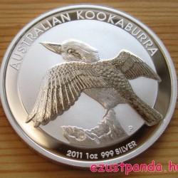 Kookaburra 2011 1 uncia ezüst pénzérme