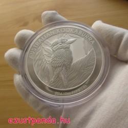 Kookaburra 2014 10 uncia ezüst pénzérme