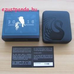 Kookaburra 2016 1 uncia high relief ezüst pénzérme