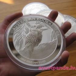 Kookaburra 2014 1 kilogramm ezüst pénzérme