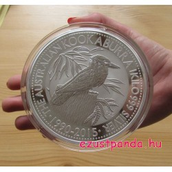 Kookaburra 2015 1 kilogramm ezüst pénzérme