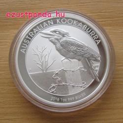 Kookaburra 2016 1 uncia ezüst pénzérme