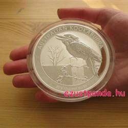 Kookaburra 2016 10 uncia ezüst pénzérme
