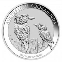 Kookaburra 2017 1 kilogramm ezüst pénzérme